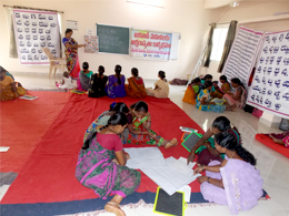 Literacy program for Tribal Women's