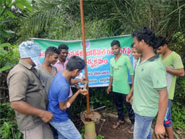 Borewell Tarining for Tribal Youth